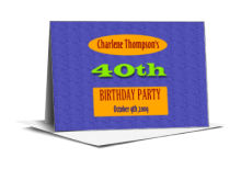 Party Time Birthday Note Card